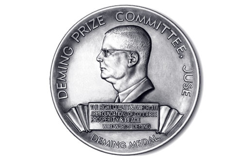 deming prize In 1951, the deming prize was established in japan in honor of dr w edwards demingit is an avenue for disseminating knowledge of successful methods for improvement.