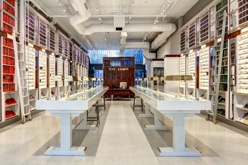 Warby Parker Greene Street store