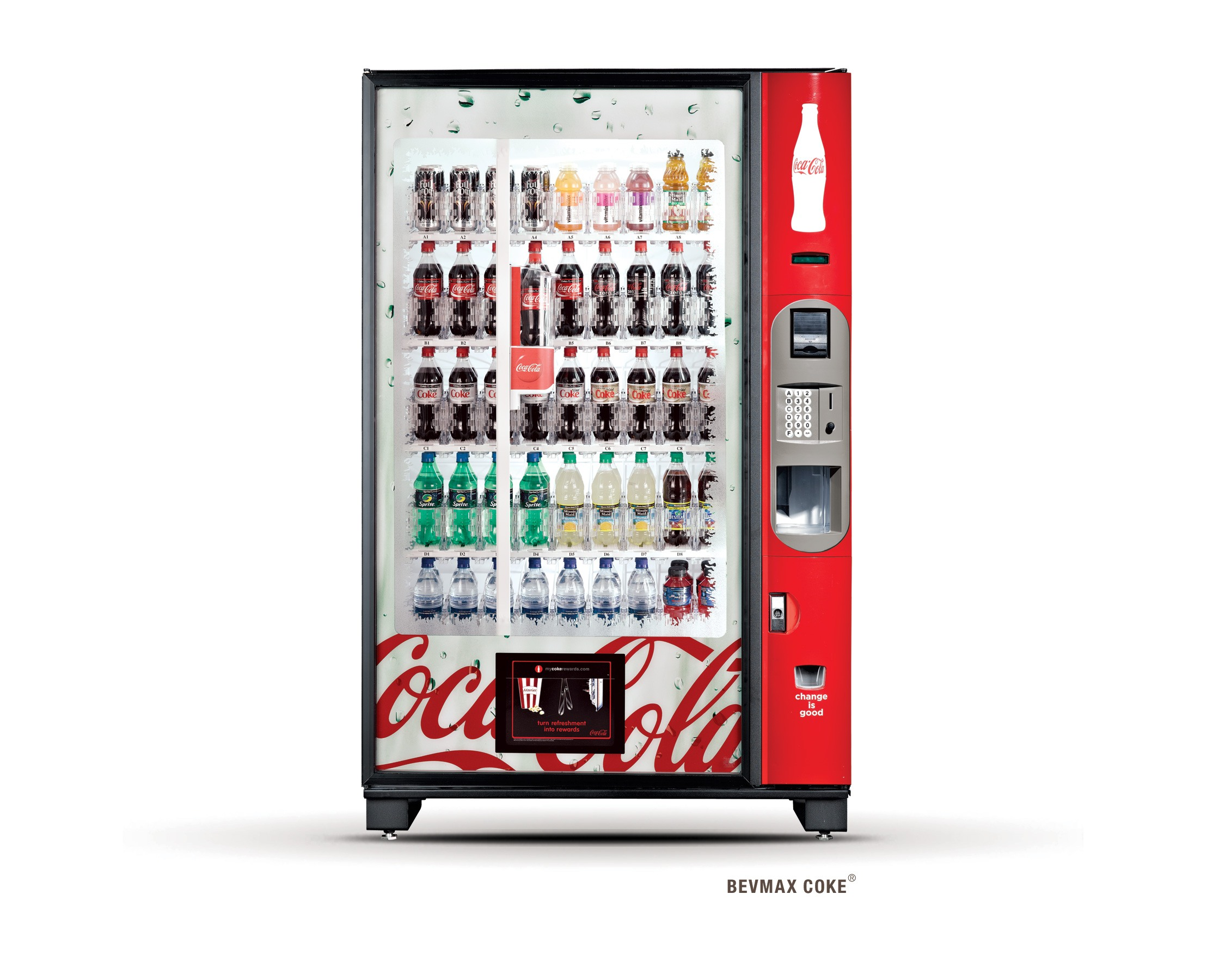 how much does a drink vending machine cost