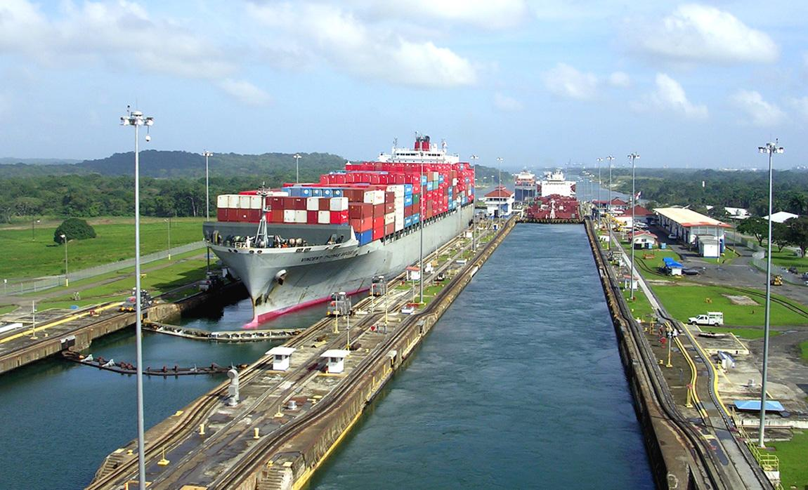 The Panama Canal Bottleneck Of Global Shipping Technology Process Flow Diagram An Error Occurred