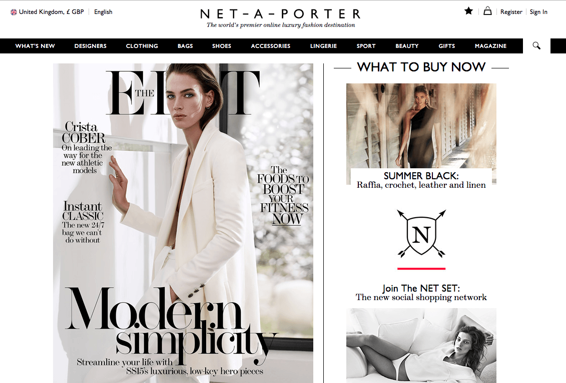Net-a-Porter Wants to Change the Way You Shop (Again) With Its New SocialNetwork
