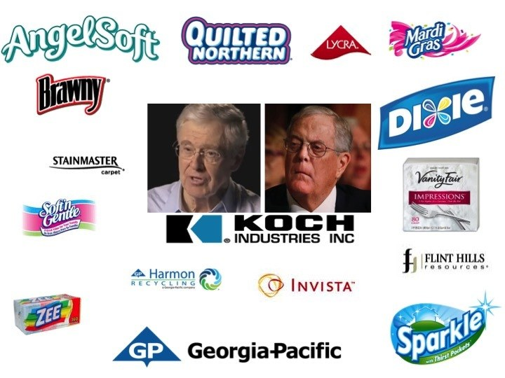 Koch industries whose side are you on technology and for Koch industrie