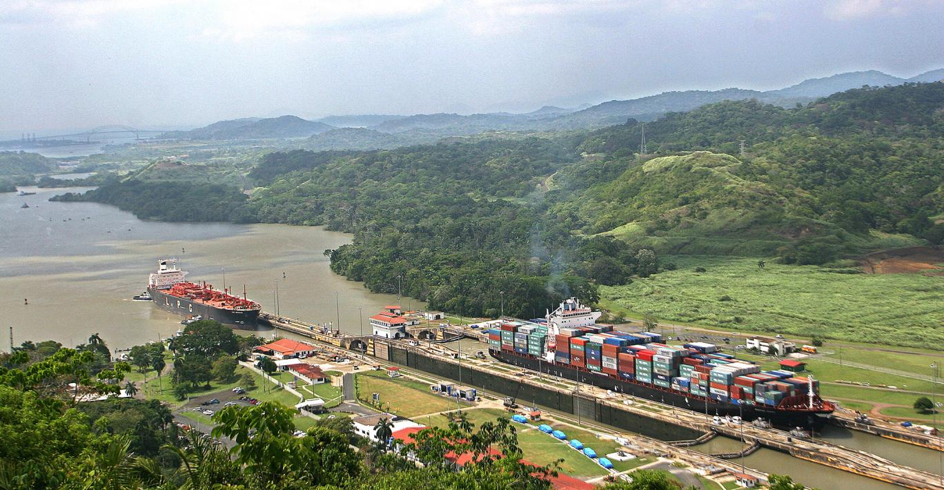 The Panama Canal in 2016.
