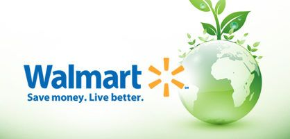 walmart going green essay To your question about whether walmart shoppers care to 'go green' or whether they are willing to pay a premium for low emissions, i also wonder whether, when making a purchase, customers think of their own emissions in the same way as they would those of a firm.